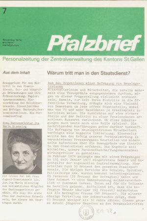 November 1974  Staatsarchiv St.Gallen, ZA 78