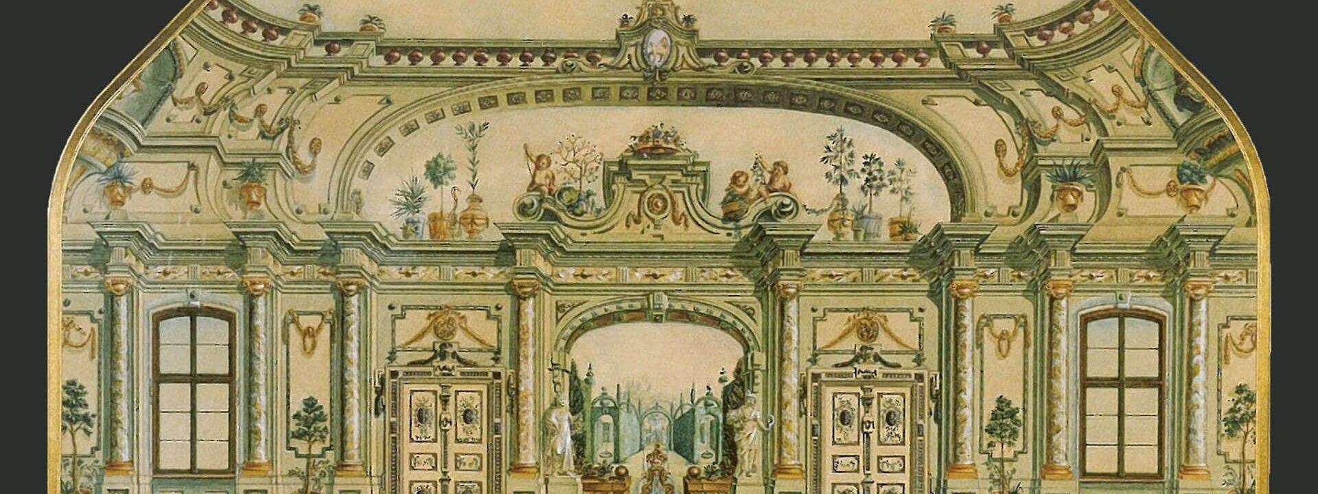 Einblicke 03 Der Urspruengliche Prunksaal Des Fuerstabtes